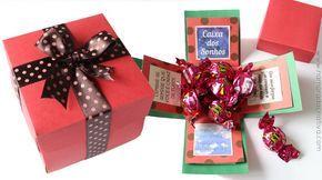 Caixa Dos Sonhos Presentinho Para Amigos E Familiares No Natal