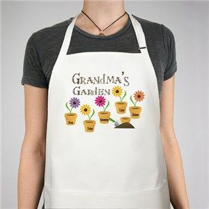 Personalized Garden Apron | Personalized Grandma Aprons from ...