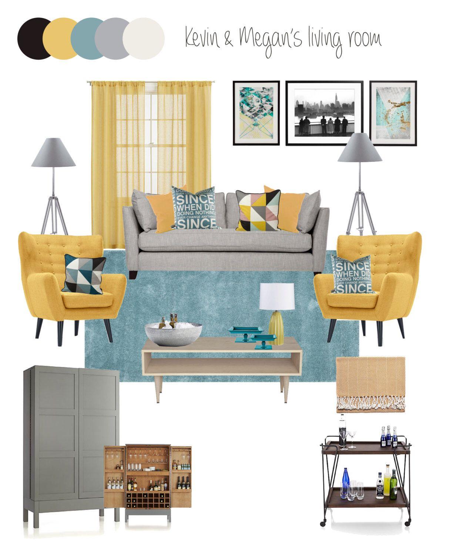 Interior Design Service online eDesign Complete Living Room design