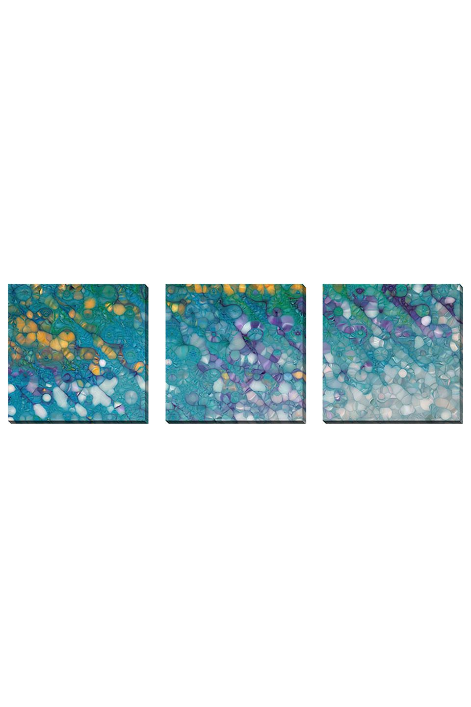 Mark Lawrence Set of 3 Untitled 39, Gallery Wrapped Canvas - Beyond the Rack