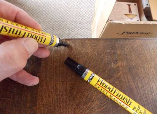 Superbe Miracle Home Repair Products   Stain Pens Allow You To Touch Up Wood  Furniture Without Refinishing The Entire Piece