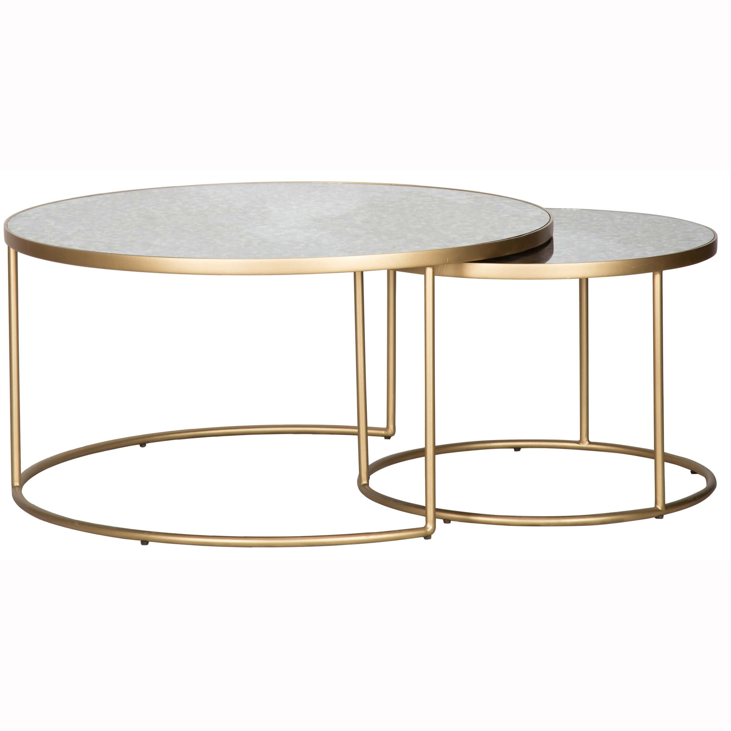 Solis Nesting Coffee Table Coffee Table Living Room Decor Neutral Nesting Coffee Tables [ 2500 x 2500 Pixel ]