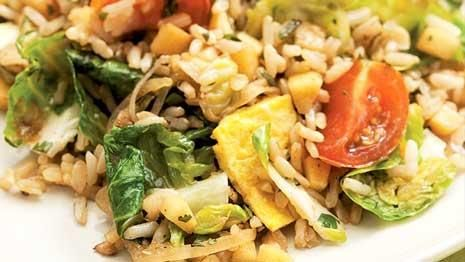 If you love vegetable fried rice try this healthy fried rice recipe if you love vegetable fried rice try this healthy fried rice recipe made with brown rice and fresh vegetables this video shows how to make fried rice at ccuart Gallery