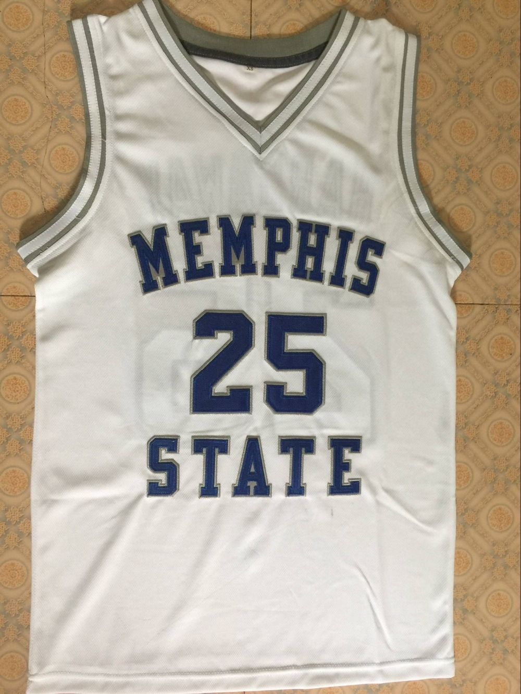 best sneakers 38b66 e5b58 Treadwell High School #25 Penny Hardaway Memphis State ...