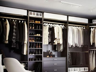 ARREDAMENTO E DINTORNI: cabine armadio ben organizzate | Placar ...