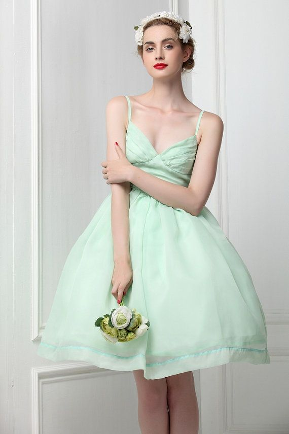 1f0166e790c Organza menthe verte Ballet Tutu demoiselle par MyFairLady1950 ...