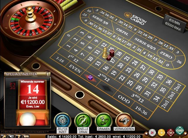 Online roulette 7 times in a row