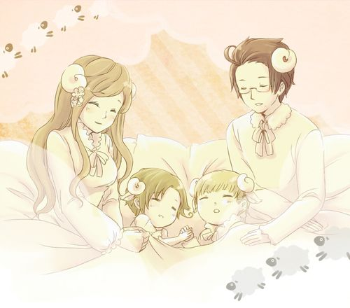 Aushun family bed