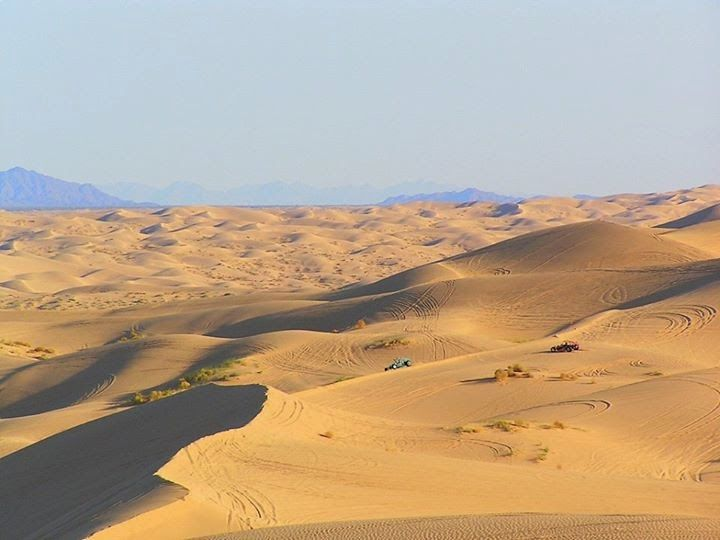Heres a great Sand Dune Guide with a map to all the best Sand Dunes