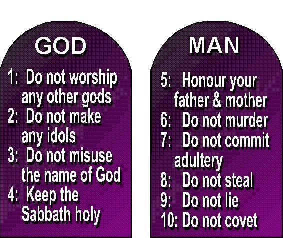 Holy Bible – The Ten Commandments | Healing ministries, 10 commandments, Ten commandments