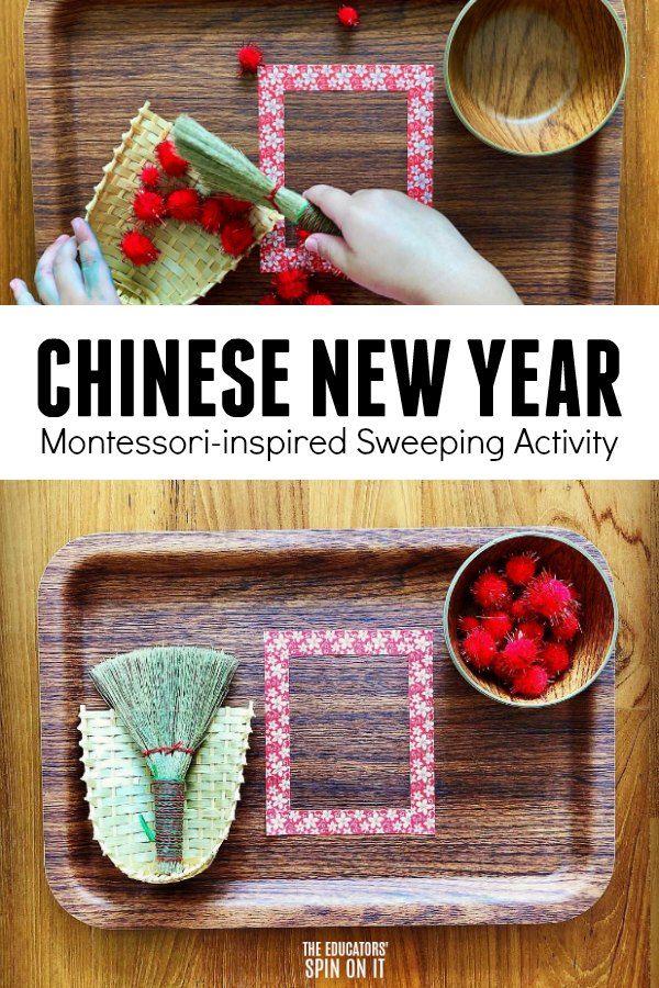 Chinese New Year Sensory Bin Ideas - 2020 | 몬테소리
