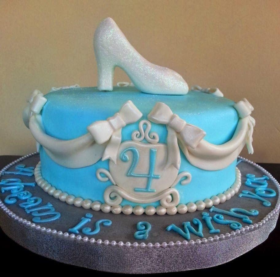 Cake Design Cinderella : Tickled Pink Cakes: Cinderella s Slipper Cake Cinderella ...