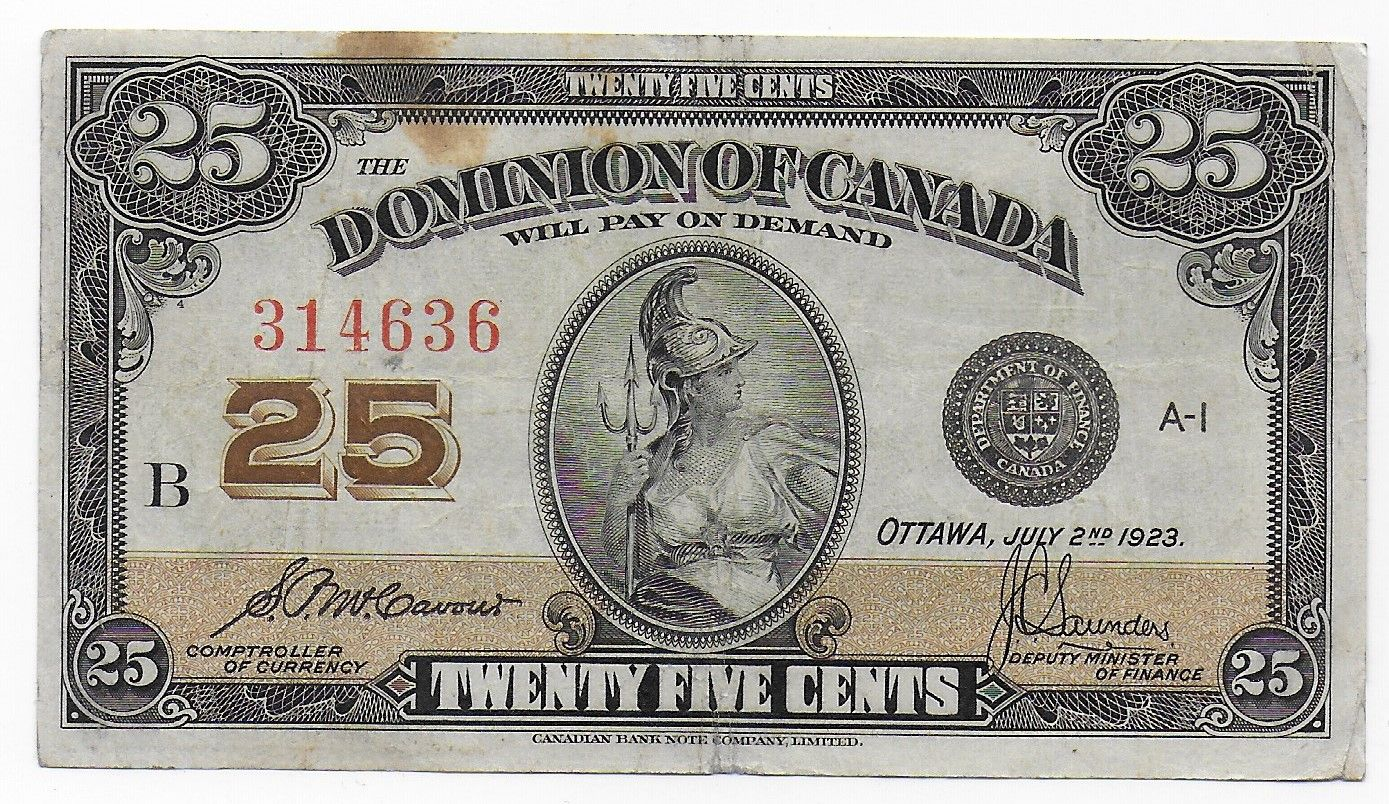 Great Canadian Banknote Old Collection Huge Low