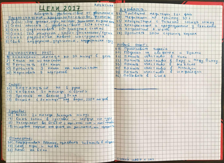 План на неделю: 7 шагов планирования