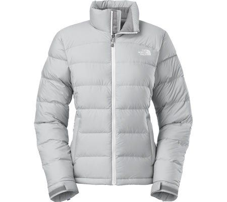 020e3661d The North Face Women's Nuptse 2 Jacket (X-Small, High Rise Grey ...