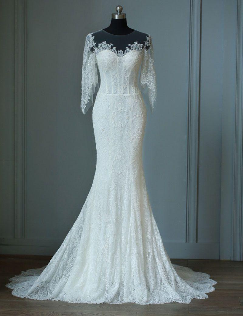gorgeous wedding dress#wedding dress 2018#mermaid wedding dress ...