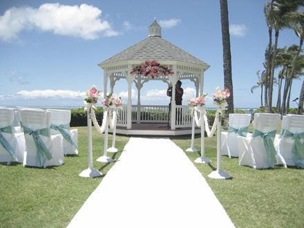 Wedding Decorating Gazebo With Branches Outdoor