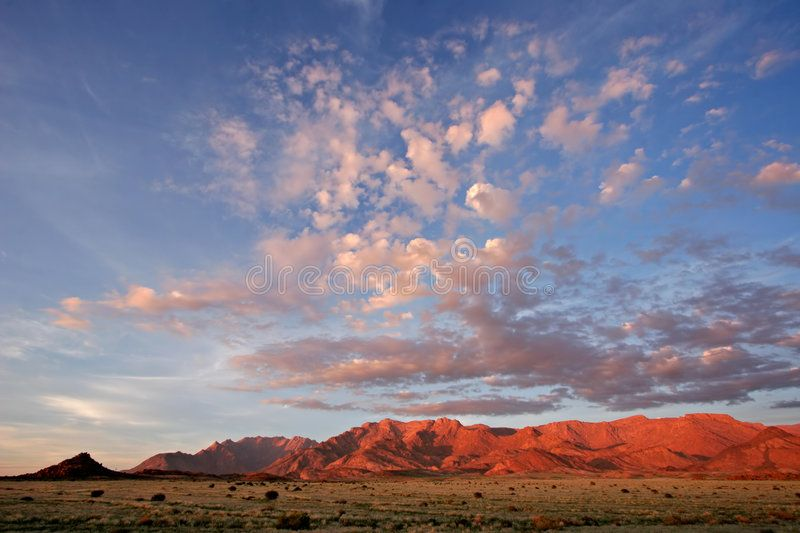Desert Landscape Brandberg Mountain Namibia Desert Landscape At Sunrise Bran Aff Brandberg Mountain Desert Landscaping Landscape Images Of Morning