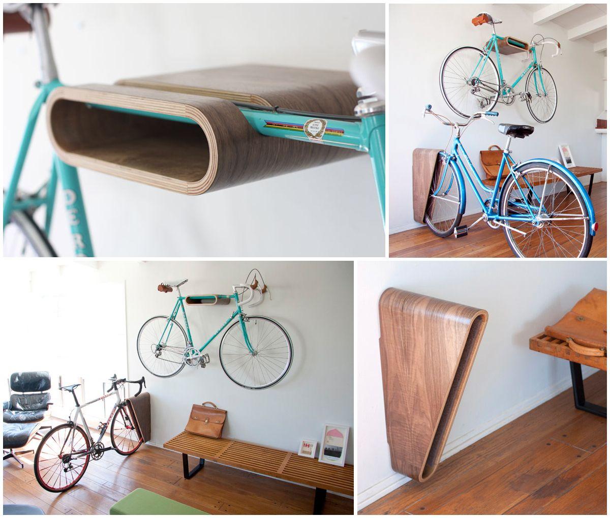 10 gave manieren om je fiets thuis op te bergen woonhome for Opbergsysteem schuur