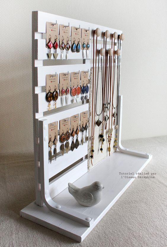 Ranger ses bijoux…Fini la galère! | Exhibidor, Accesorios de bebe y ...