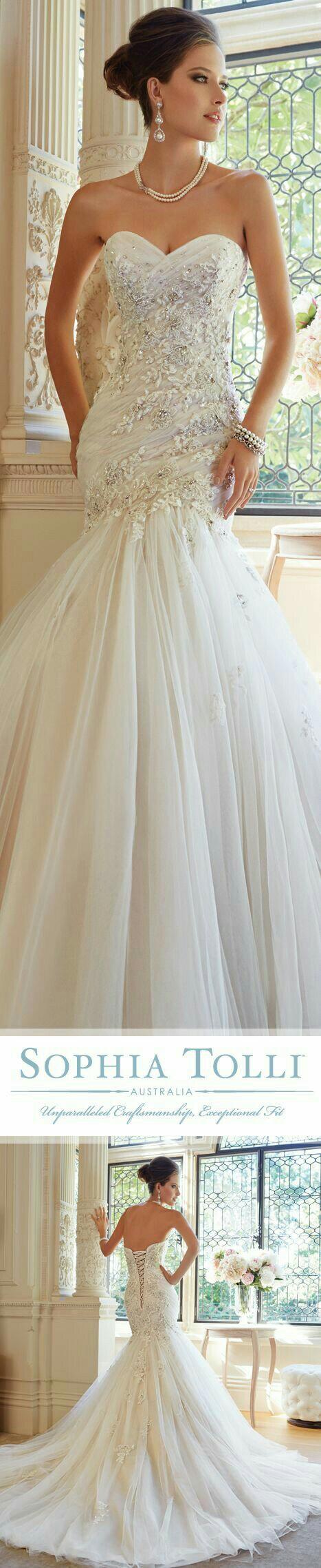 Pin von Danitza Galdámez auf Wedding Dresses | Pinterest