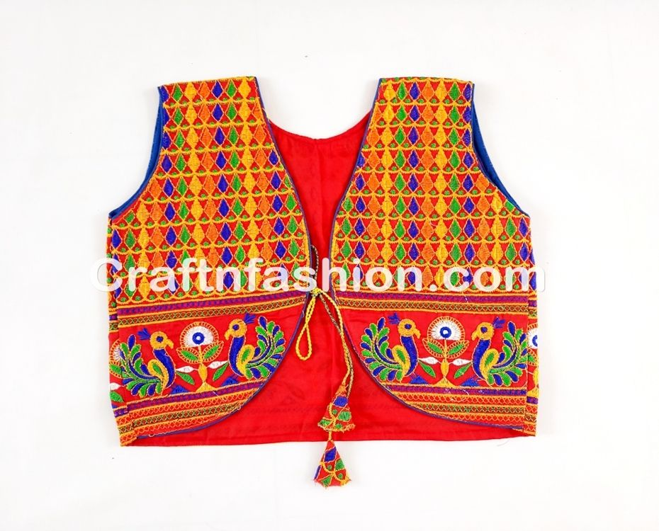 vintage navratri wear embroidery work coat / shrug, villege navratri wear embroidery work coat / shrug, ethnic navratri wear embroidery work coat / shrug,