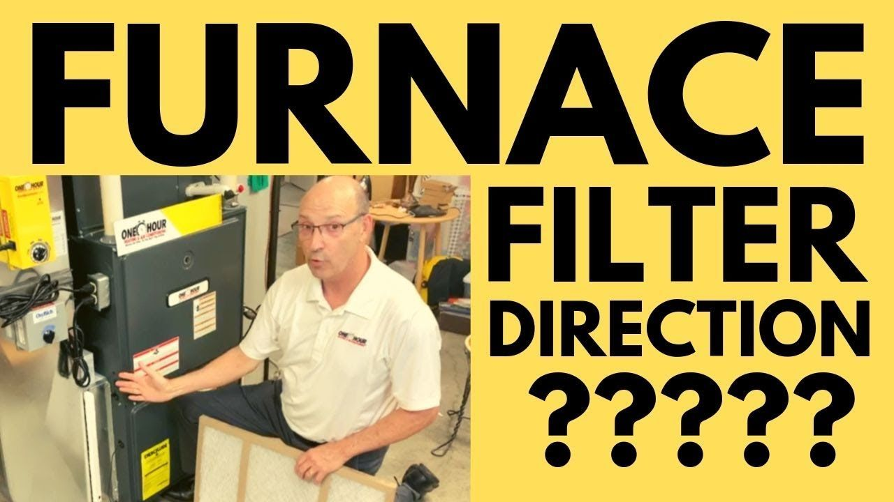 Furnace filter direction how to replace furnace filter in