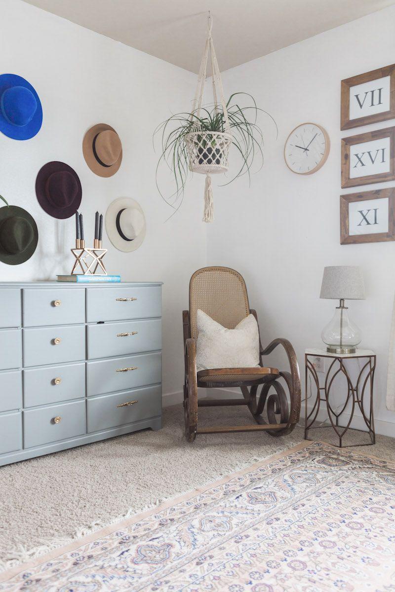 Step inside a hip washington home with major style color