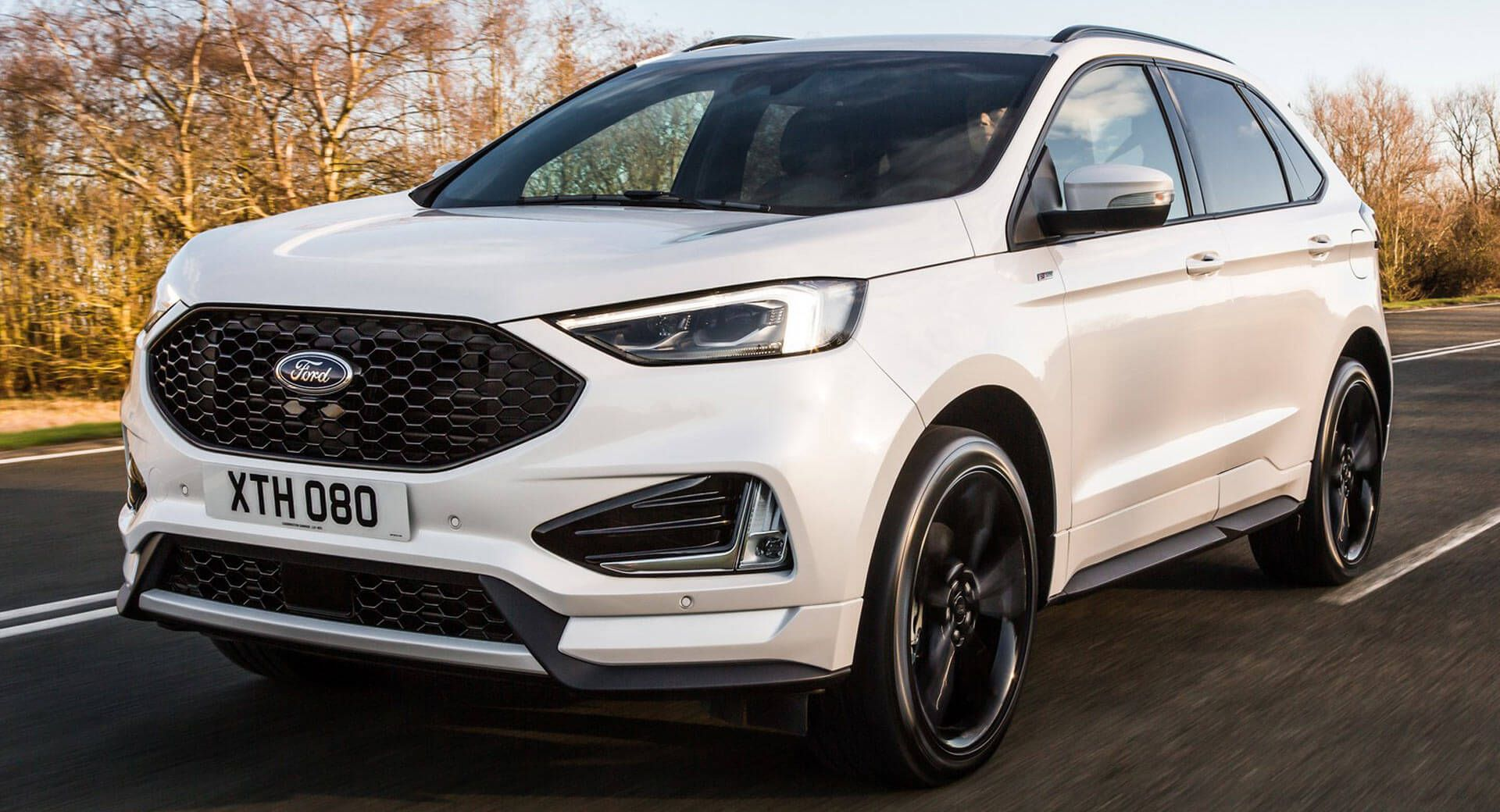 Facelifted Ford Edge Arrives In Europe With New 235hp Bi Turbo