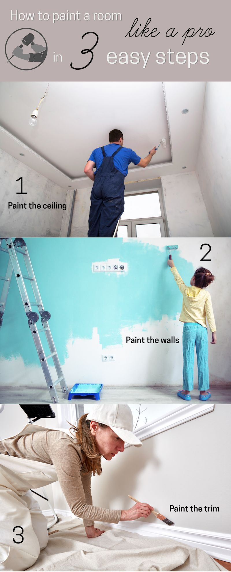How To Paint A Room Like Pro Steps Painting