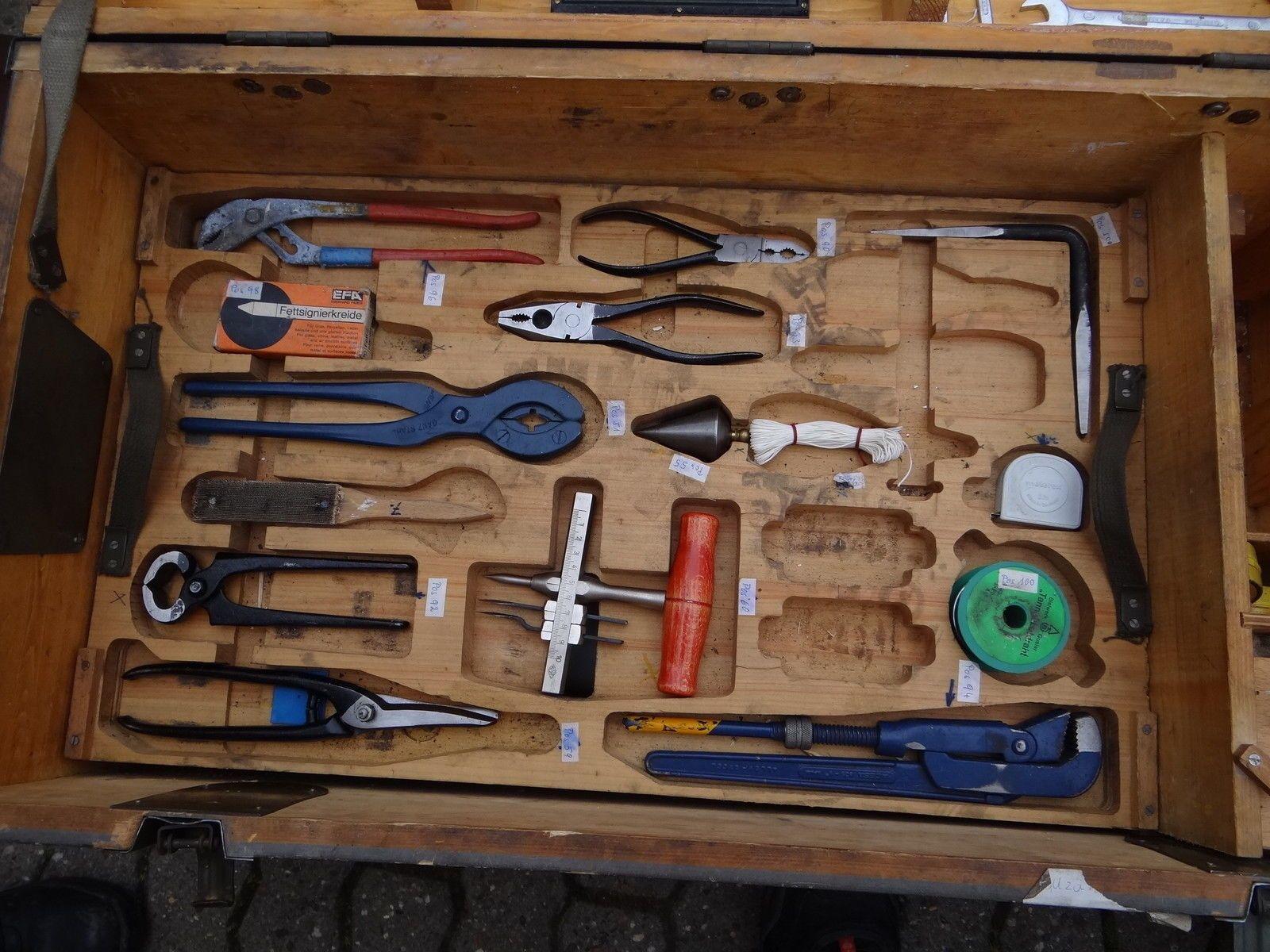 Sommerküche Gebraucht : Details zu bundeswehr werkzeugsatz installateur klempner gebraucht