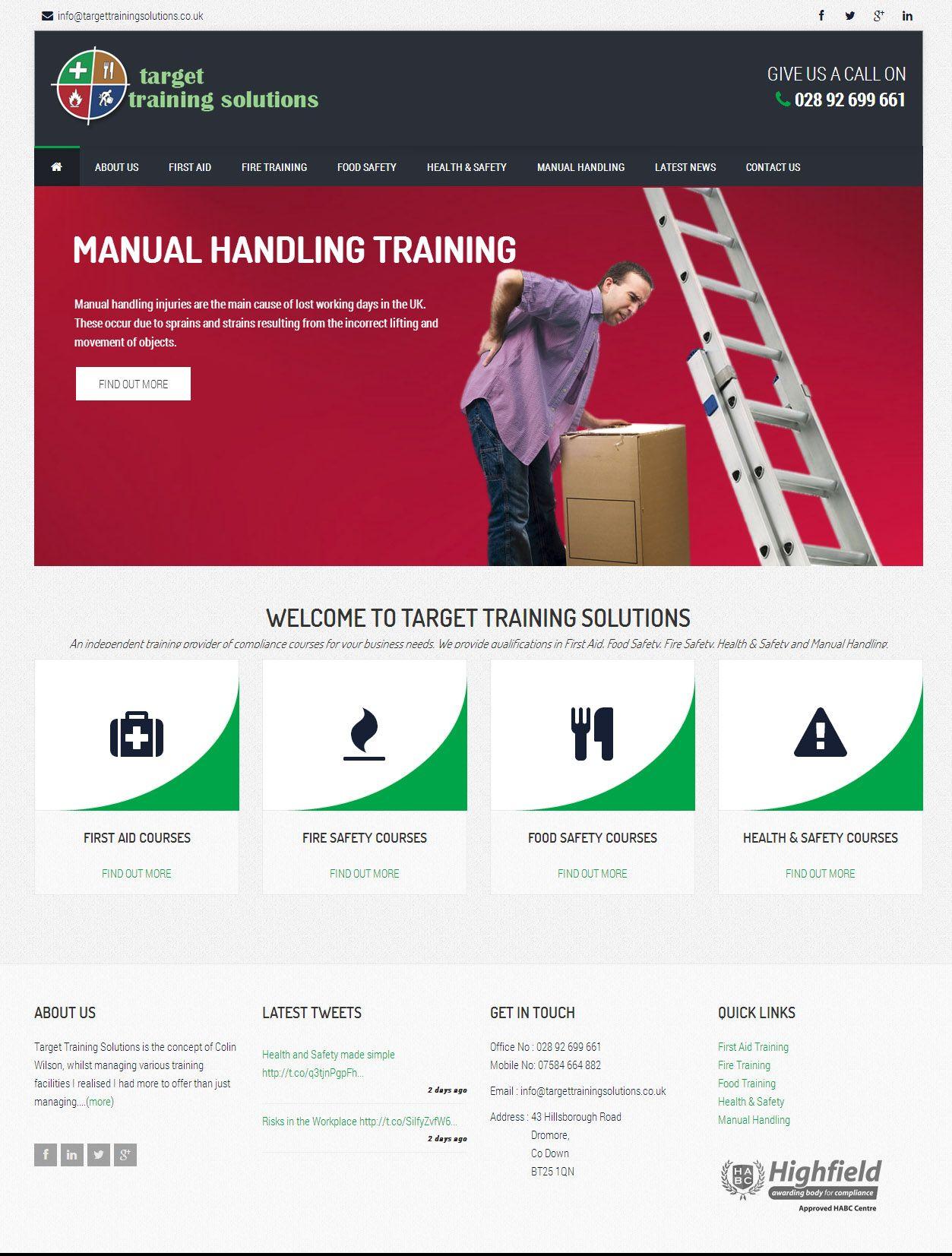 Target Training Solutions three60design Banbridge