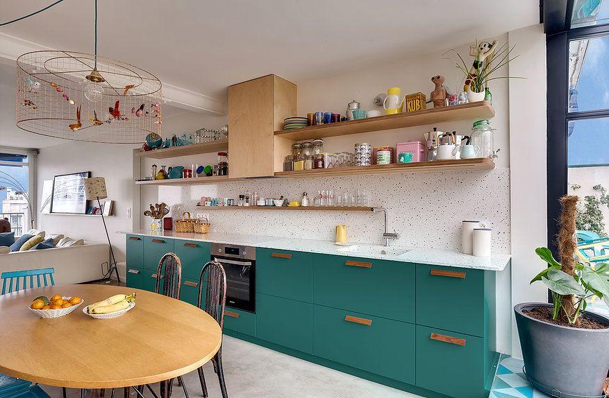 Projet clavel architecte d 39 int rieur paris - Architecte interieur paris petite surface ...