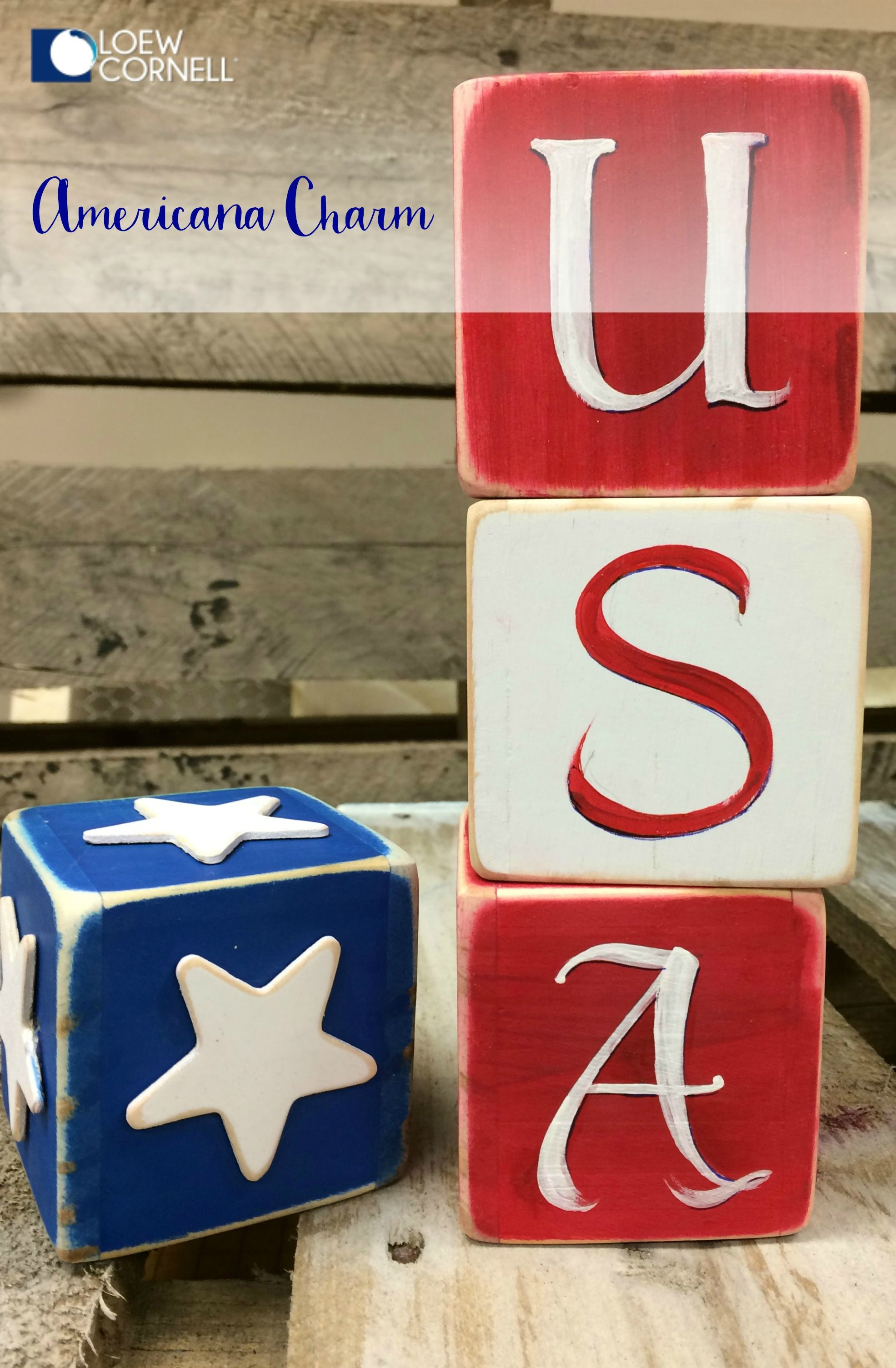 Fill Your Home With Diy Americana This 4th Of July This Wooden