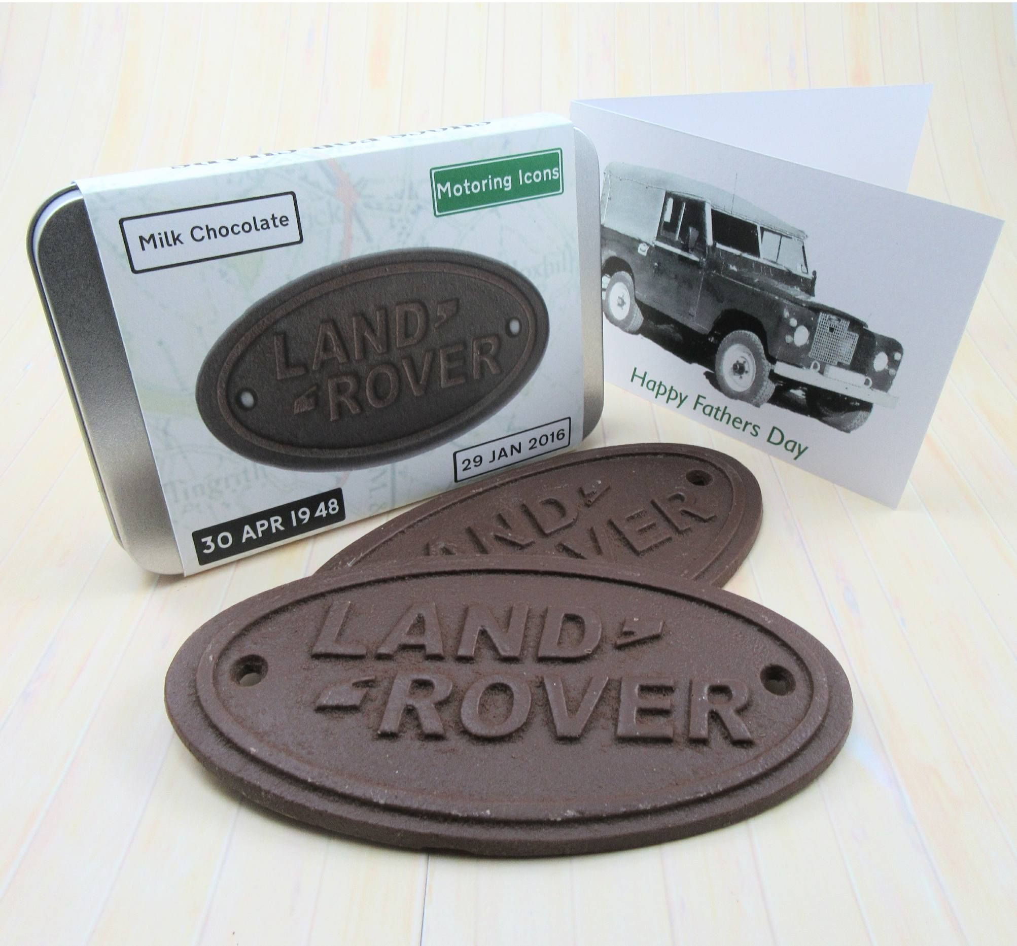 Birthday idea for the land rover enthusiast with gift card