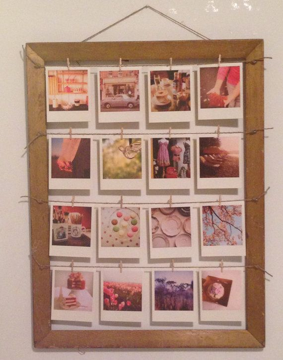 16x20 Made To Order Clothesline Hanging Frame With Twine Or Wire
