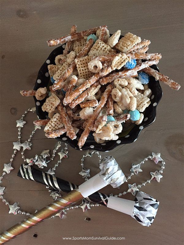easy new years snack mix