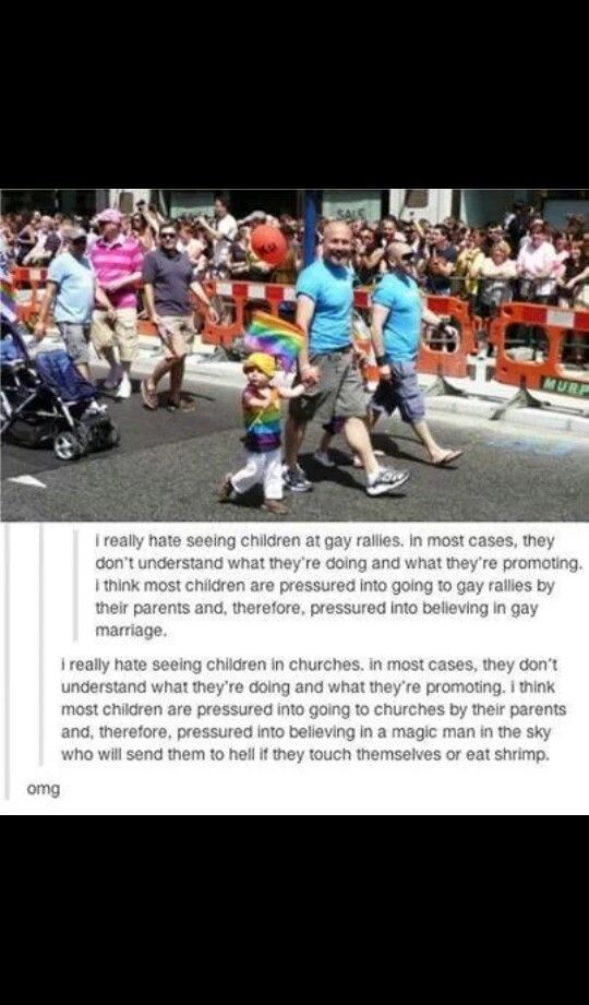 Yeah cause kids totally hate bright colors, costumes, and parades....