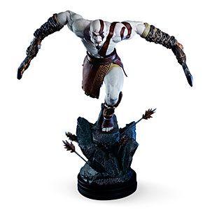 God of War Lunging Kratos Figure   ThinkGeek