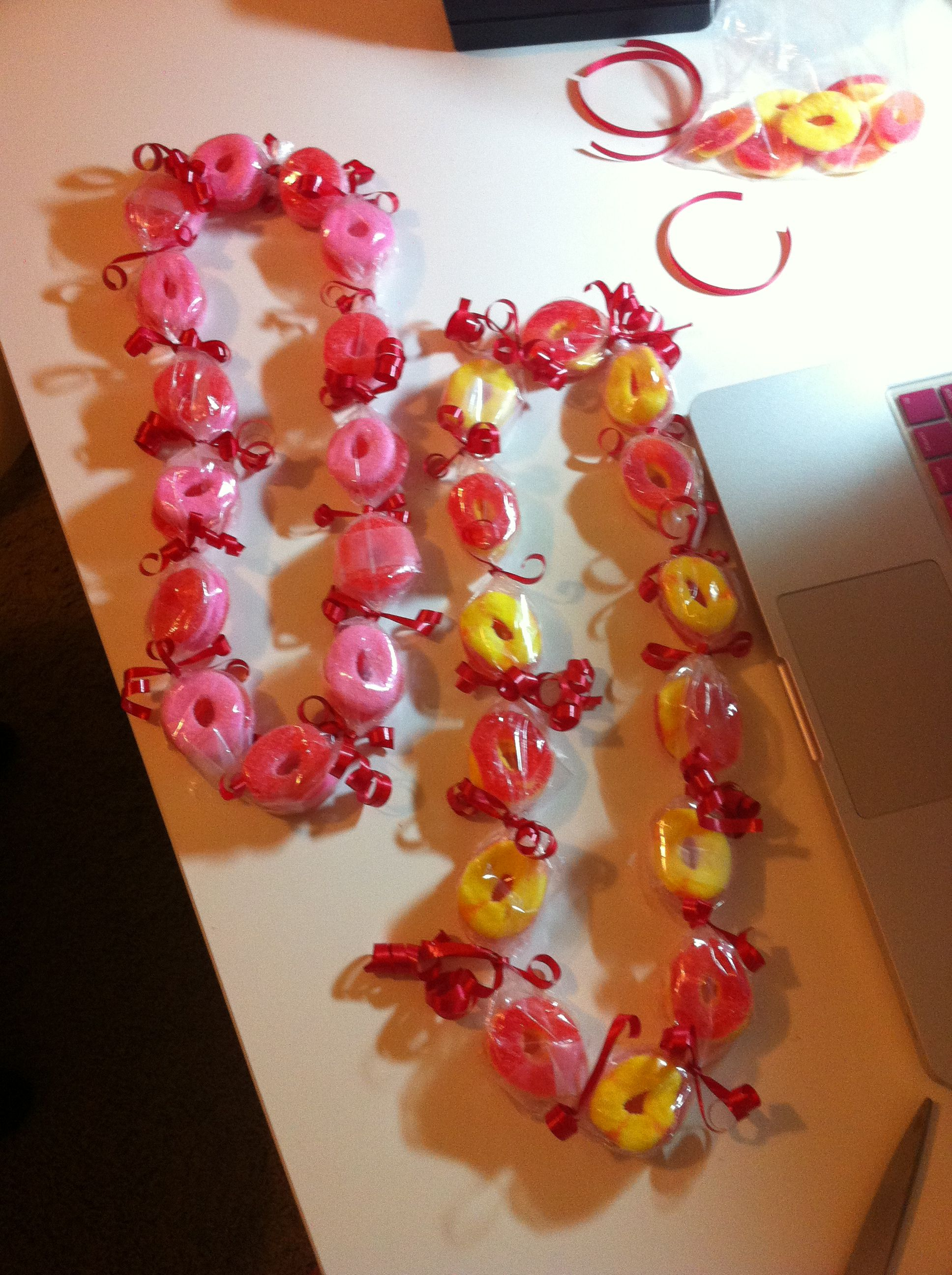 gummy ring Candy lei