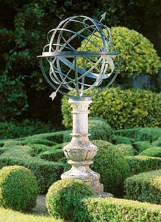 Armillary Formal Garden Design Sundials Formal Gardens