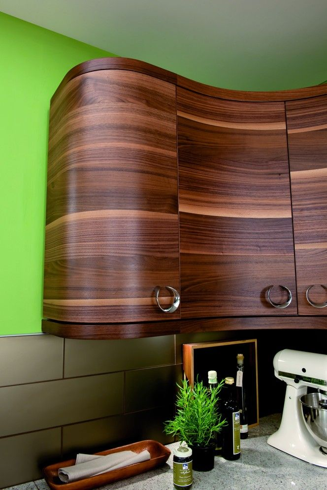Curvy Cabinets  I Can Cook  Pinterest  Cabinets And Kitchens New Moben Kitchen Designs Design Ideas