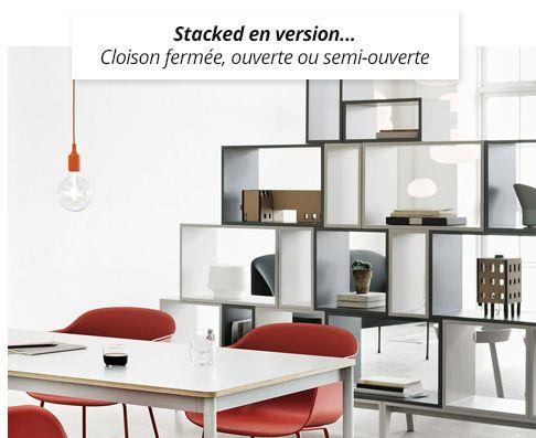 Muuto  Nouveau  Votre Meuble Stacked SurMesure  Shelves