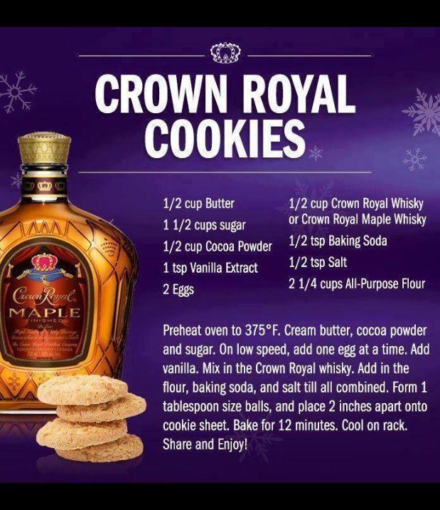 Crown cookies