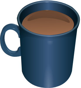 Vector Clip Art Online Royalty Free Public Domain Mugs Hot Chocolate Coffee Cup Clipart