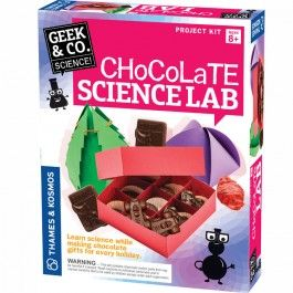 Chocolate science lab food science kit pinterest science kits chocolate science lab food science kit educational toys planet great gift for 8 years old child learn chemistry and physics while making chocolate for solutioingenieria Gallery