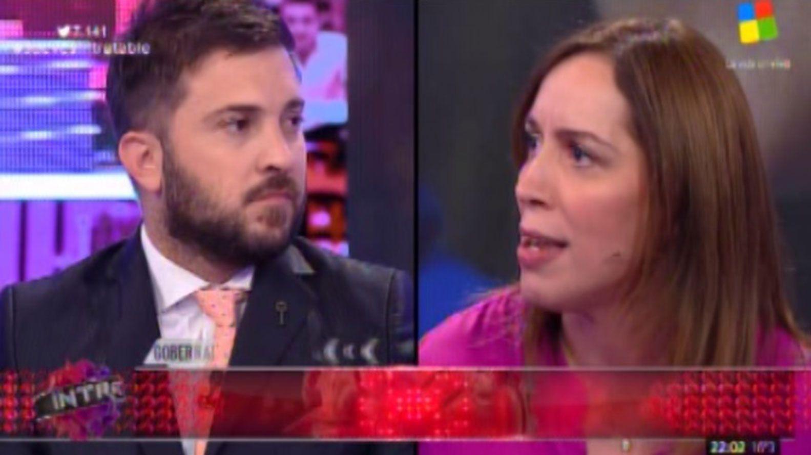 """María Eugenia Vidal a Brancatelli: """"¿De verdad me hablás de compromiso con la pobreza?"""""""