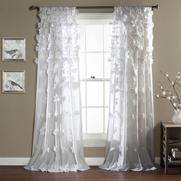 Lush Decor Riley Window Curtain Panel 16670459 Ping Great Deals On Curtains