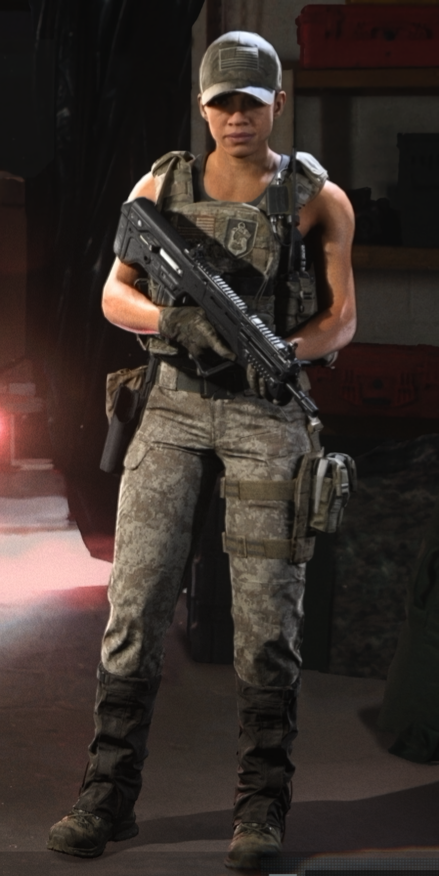 call of duty modern warfare characters girl