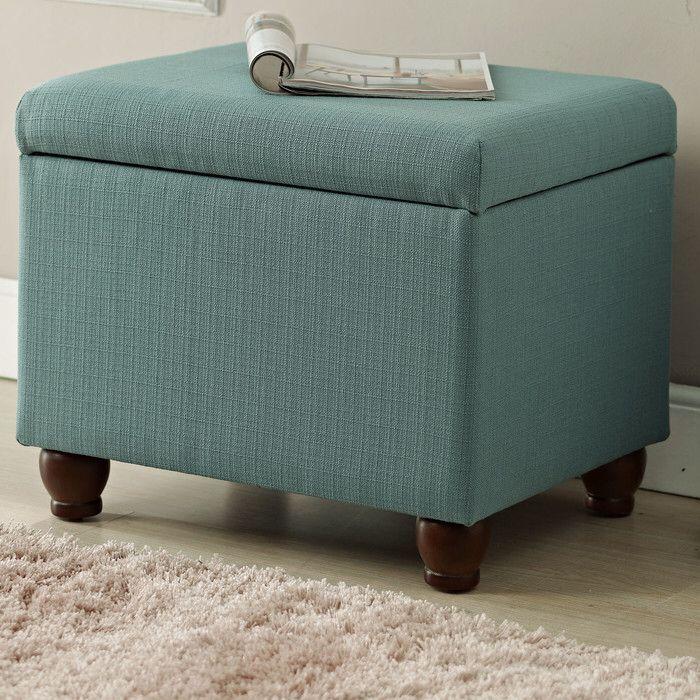 Andover Mills Birmingham Upholstered Storage Cube Ottoman